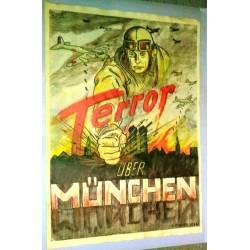 """Plakat """" Terror über..."""